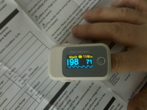 oximeter working